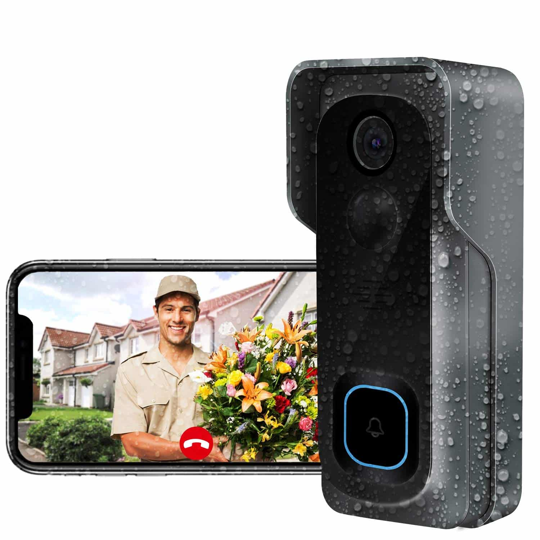 Haustürklingel mit kamera